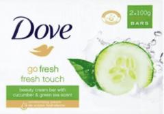 Dove Zeep Go Fresh Fresh Touch Zeeptablet 2x 2x100gr
