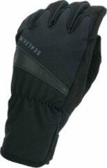 Zwarte Sealskinz Waterproof All Weather Cycle Fietshandschoenen Unisex - Maat S