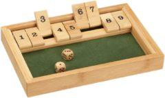 Philos Shut the Box 9 1-2 spelers