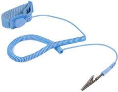 Blauwe Startech ESD Anti Static Wrist Strap Band