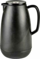 Funktion Vacuum Thermoskan Ocean - Isoleerkan - Theekan - Koffiekan - 1 Liter - Mat Zwart