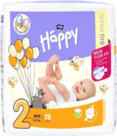 Afbeelding van Babykledingenzo Happy luiers Mini maat 2 ( 2 x 78 stuks )