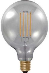Segula LED-lamp Energielabel: A (A++ - E) E27 Bol 6 W = 25 W Grijs (Ã x l) 125 mm x 180 mm Dimbaar, Filament / Retro-LED 1 stuks
