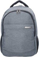 Bags & More Rucksack 46 cm Laptopfach D&N grau