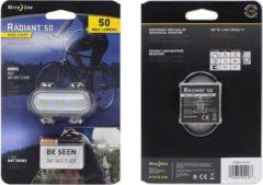 Nite Ize Radiant 50 Fietslamp - Wit - 50 lumen