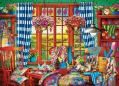 Eurogra Puzzel 1000 stukjes - Patchwork Craft Room