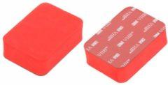 Rode HaverCo Premium Floaty Floatie Drijver Spons voor GoPro Action Cam met 3M plakstrip
