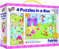 Galt - 4 Puzzels in een doos - Feeën