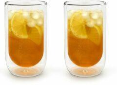 Transparante Bredemeijer Dubbelwandig glas tumbler 400ml
