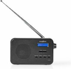 Nedis DAB+ Radio   3.6 W   FM   Klok & Alarm Functie   Zwart