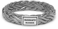 Buddha to Buddha 605BR-SS Ring Katja XS Black Rhodium Shine Silver Maat 17