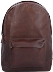 Nasty Cowboys Dallas Rucksack Leder 42 cm Laptopfach Billy the kid nut brown