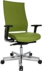 Topstar Design-Drehstuhl T400 mit Synchronmechanik, grün