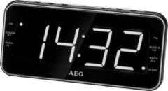 AEG 2-Band-PLL-Radio, Uhrenradio, Wandmontage möglich »MRC 4157«