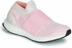 Roze Hardloopschoenen adidas ULTRABOOST LACELESS