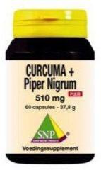 Snp Curcuma & Piper Nigrum 510 Mg Puur (60ca)