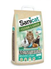 Sanicat Clean & groen Papier Recycle 20 liter Bodembedekking