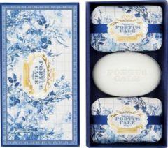 Castelbel Portus Cale Gold & Blue zeepset 3 x 150 gr