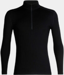 Zwarte Icebreaker 260 Tech Merino Long Sleeve Half Zip Base Layer - Onderkleding