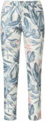 Enkellange jeans pasvorm Sylvia Van Peter Hahn wit