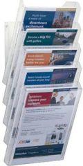 Durable COMBIBOXX A4 SET XL - 8586 858619 Folderhouder Transparant DIN A4 Aantal vakken 5 1 stuks (b x h x d) 242 x 580 x 155 mm