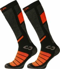 Oranje SINNER Pro Socks II Double Pack Wintersportsokken Unisex - Maat 45-47