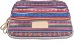 Lisen – Laptop/Tablet Sleeve tot 10 inch – 27 x 21 x 1,5 cm - Bohemian Style – Multi colour