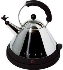 Zwarte Alessi Electric waterkoker Kettle zwart