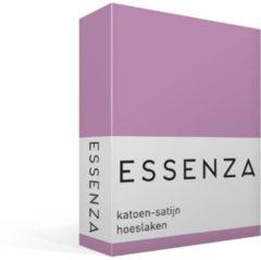 Paarse Essenza Hoeslaken Satijn Lila-lits-jumeaux (180x200 Cm)