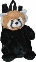 Wild Republic Rugzak Rode Panda Junior 2,7 Liter Pluche Zwart/bruin