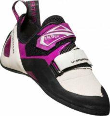Beige La Sportiva Katana Woman Klimschoen voor dames met goede pasvorm 37