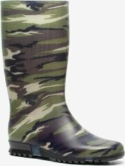 Groene Dunlop army regenlaarzen Dames Regenlaarzen Maat 33
