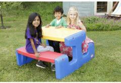 Blauwe Little Tikes Buitenspeelgoed | Picknicktafels - Lt Gr.Picknicktafel Primary
