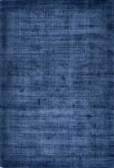 Disena Blauw vloerkleed - 160x230 cm - Effen - Modern