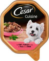 Cesar Alu Cuisine 150 g - Hondenvoer - Kalf&Kalkoen - Hondenvoer