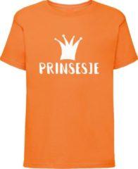 Bulbby Oranje shirt Koningsdag | Prinsesje | Maat 110-116