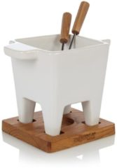 Witte Boska Tapas Fondue Bianco- 0.2 l <lt/>br /<gt/>Waxinelichtje wordt niet meegeleverd.