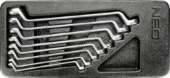 Neo Tools Ringsleutelset 8 Delig 6 T/m 22mm Inleglade Gemaakt Volgends DIN 3113