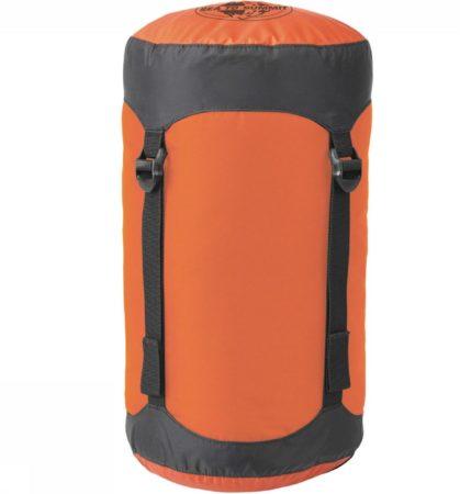 Afbeelding van Sea to Summit - Compression Sack - Pakzak maat Small, oranje/zwart