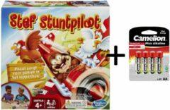 Mb Spellen Stef Stuntpiloot + Batterijen Pack - Bundelpakket