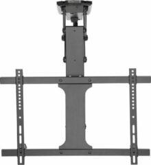 """Zwarte Elektrische plafondbeugel voor TV met afstandsbediening, 32 """"-70"""" max 35kg Maclean MC-880 max VESA 600x411"""
