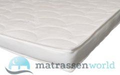 Witte Matrassen-World Tencel Topper Koudschuim - 190 x 200 cm dikte c.a. 12 cm