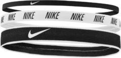 Witte Nike Mixed Width Headbands 3 Pack - Hoofdbanden