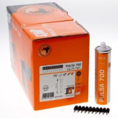 Spit nagel C 6/25 mm met drijfstof Spit Pulsa-7 046320 - 500 Stuks