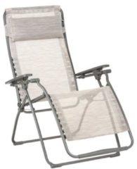 Beige LAFUMA FUTURA - VLNEO - Relaxstoel - Traploos Verstelbaar - Inklapbaar - Zero Gravity