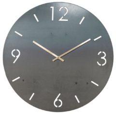Zwarte Spinder Design Time - Wandklok - Rond - Ø 80cm - Blacksmith