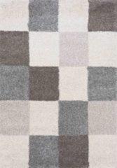 Beige Karpetexpert.nl Hoogpolig Vloerkleed Shaggy Deluxe 5505-161 80x150 cm