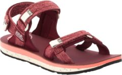 Jack Wolfskin Outfresh Deluxe Sandal Sandalen Heren - Carbernet / Champagne - Maat 38