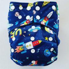 Merkloos / Sans marque A22 AIO One Size Pocket luier space