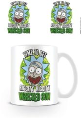 Witte Rick and Morty Wrecked Son - Mok